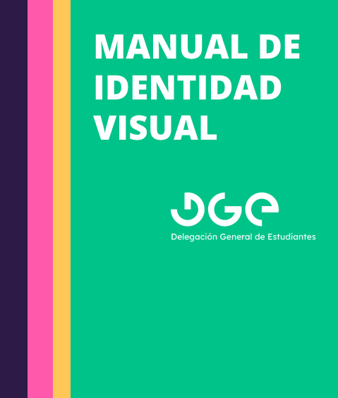 Portada Manual de Identidad Visual DGE